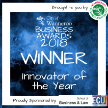 Burdens Australia Wins innovator of the Year 2018